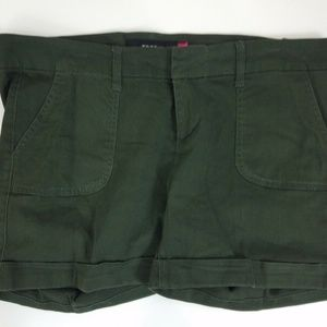 Torrid Poplin Stretch Cuffed Chino Shorts Size 12